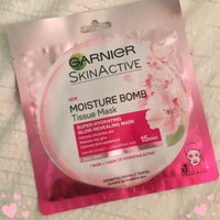 Garnier SkinActive Moisture Bomb The Super Hydrating Glow-Boosting Sheet Mask uploaded by Danielle S.