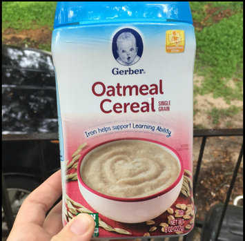 Photo of Gerber® Oatmeal Cereal 8 oz. Canister uploaded by Samantha M.