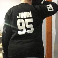 Allkpoper BTS Bangtan Boys Black Hoody Sweater Pullover [] uploaded by Ashley H.