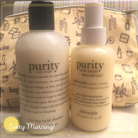 philosophy purity made simple one-step facial cleanser uploaded by Ashley T.