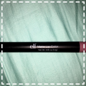 Photo of e.l.f. Matte Lip Color uploaded by Natalie W.