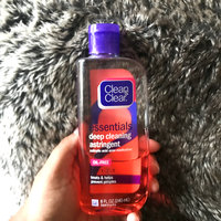 Clean & Clear® Essentials Deep Cleaning Astringent uploaded by Jay K.