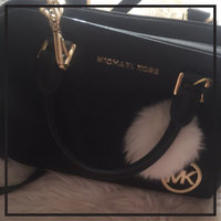 Michael Kors Savannah Large Saffiano Leather Satchel, Black uploaded by Heather C.