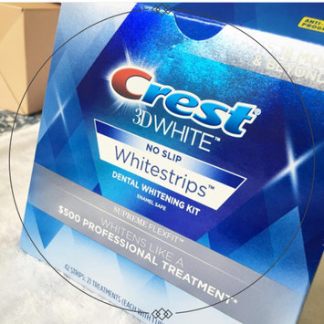Photo of Crest 3D White Luxe Professional Effects Whitestrips Teeth Whitening Kit uploaded by Kerri D.