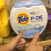 Tide PODS® Free and Gentle Laundry Detergent uploaded by Kaleigh P.