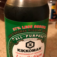 Kikkoman Less Sodium Soy Sauce uploaded by Estella G.