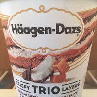 Haagen-Dazs Trio Salted Caramel Chocolate Ice Cream uploaded by Ellie R.