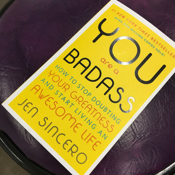 Photo of You Are a Badass: How to Stop Doubting Your Greatness and Start Living an Awesome Life uploaded by Naomi Z.