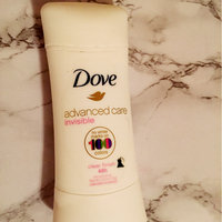 Dove Invisible Advanced Care Clear Finish Antiperspirant uploaded by Devani G.