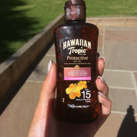 Hawaiian Tropic® Protective Dry Oil SPF 15 Sunscreen uploaded by Katie P.