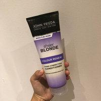 John Frieda® Sheer Blonde Colour Renew Tone-Correcting Conditioner uploaded by Evyn G.