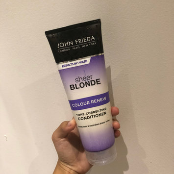 Photo of John Frieda® Sheer Blonde Colour Renew Tone-Correcting Conditioner uploaded by Evyn G.