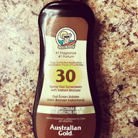 Australian Gold Spray Gel with Instant Bronzer SPF 30 uploaded by Aline P.