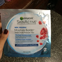 Garnier SkinActive Moisture Bomb The Super Hydrating Sheet Mask uploaded by Winnie R.