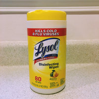 Lysol Disinfecting Wipes - Lemon uploaded by Colleen L.
