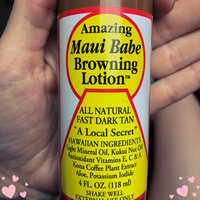 Maui Babe Browning Lotion uploaded by Nikki H.