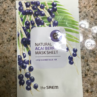 The Saem - Natural Mask Sheet 1pc (20 Flavors) Oatmeal uploaded by Brittany W.