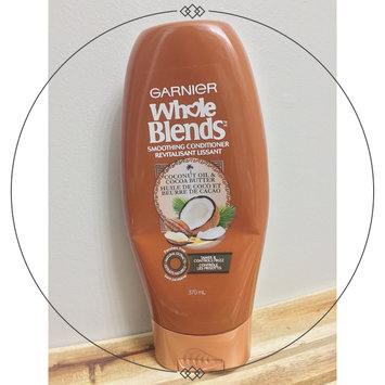 Photo of Garnier Whole Blends Coconut Oil & Cocoa Butter Extracts Smoothing Conditioner uploaded by Melissa W.