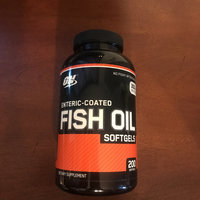 Optimum Nutrition Enteric Coated Fish Oil uploaded by Juan P.