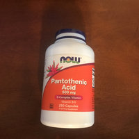 NOW Foods Pantothenic Acid 500 mg Caps uploaded by Juan P.