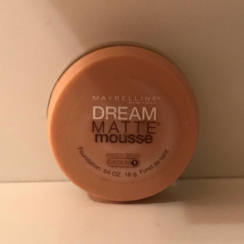 Photo of Maybelline Dream Matte® Mousse Foundation uploaded by Celimar M.