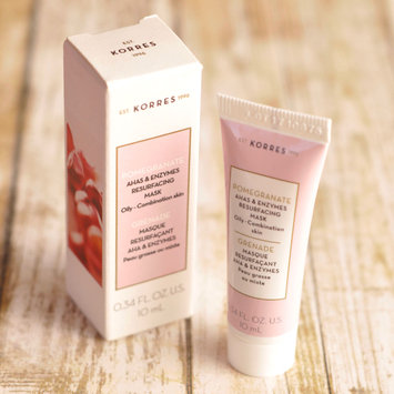 Photo of KORRES Pomegranate AHAs & Enzymes Resurfacing Mask uploaded by Echo S.