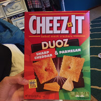 Cheez-It Duoz™ Sharp Cheddar and Parmesan uploaded by Kennedy D.