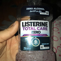 LISTERINE® TOTAL CARE ZERO FRESH MINT Anticavity Mouthwash uploaded by Asmaa A.