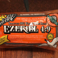 Food For Life Ezekiel 4:9 Sprouted 100% Whole Grain Bread uploaded by Jay S.