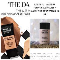 MAKE UP FOR EVER Mat Velvet + Matifying Foundation uploaded by Ellie S.