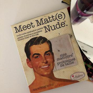 Photo of theBalm Meet Matt(e) Nude® Nude Matte Eyeshadow Palette uploaded by Anhar M.