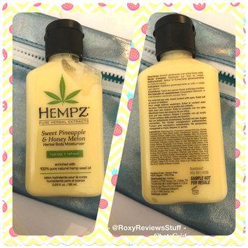 Photo of Hempz Sweet Pineapple & Honey Melon Moisturizer uploaded by Roxanne O.