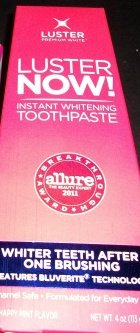 Luster NOW! Instant Whitening Toothpaste uploaded by Michelle O.