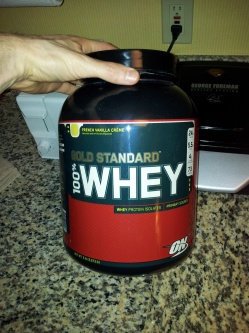 Photo of Optimum Nutrition Gold Standard Natural 100% Whey Protein uploaded by Casey H.