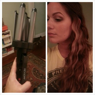 Revlon Perfect Heat Tourmaline Ceramic 3-Barrel Waver uploaded by Colleen E.