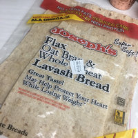 Joseph's Flax Oat Bran & Whole Wheat Lavash Bread - 4 CT uploaded by Emily L.