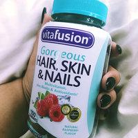 Vitafusion™ Gorgeous Hair, Skin & Nails Multivitamin Raspberry Gummies uploaded by Celina C.