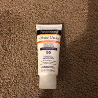 Neutrogena® Clear Face Break-Out Free Liquid Lotion Sunscreen Broad Spectrum SPF 55 uploaded by Yineisi G.