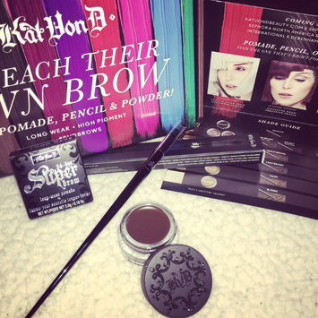 Photo of Kat Von D #70 Pomade Brow Brush uploaded by Luciana S.