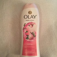 Olay Fresh Outlast Cooling White Strawberry & Mint Body Wash uploaded by Sincerely, Sarah E.