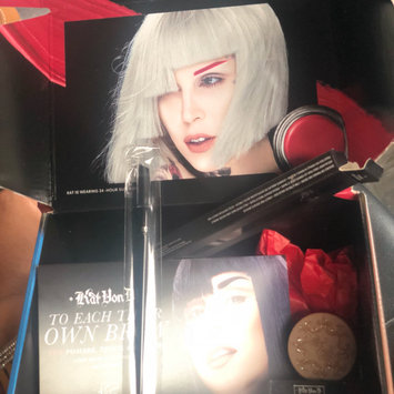 Photo of Kat Von D #70 Pomade Brow Brush uploaded by Brittiany C.