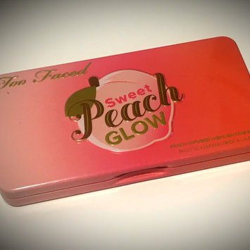 Photo of Too Faced Sweet Peach Glow Infused Highlighting Palette uploaded by Ashley M.