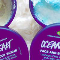 LUSH Ocean Salt Face and Body Scrub uploaded by Trisha E.