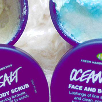 Photo of LUSH Ocean Salt Face and Body Scrub uploaded by Trisha E.