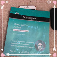 Neutrogena® Deep Clean® Purifying 100% Hydrogel Mask uploaded by Heather F.