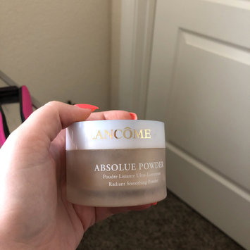 Photo of Lancôme Absolue Powder Radiant Smoothing Powder uploaded by Amber E.