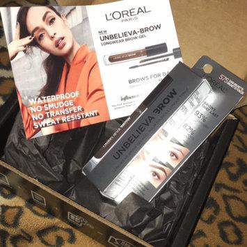 Photo of L'Oréal Paris UNBELIEVA-BROW Longwear Waterproof Brow Gel uploaded by Sabrina F.
