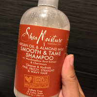 SheaMoisture Argan Oil & Almond Milk Smooth & Tame Shampoo uploaded by DeAndra M.