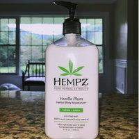 Hempz Vanilla Plum Herbal Moisturizer uploaded by Liz S.
