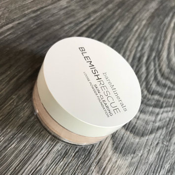Photo of bareMinerals Blemish Rescue Skin-Clearing Loose Powder Foundation uploaded by Brittany W.